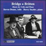 Music for Cello and Piano by Bridge & Britten