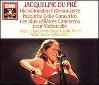 Favourite Cello Concertos - English Chamber Orchestra; Jacqueline du Pr� (cello)