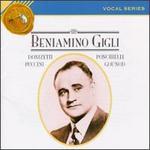 Beniamino Gigli: Vocal Series