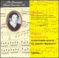 Weber: Piano Concerto No. 1 in C minor; Piano Concerto No. 2 in E flat major; Koncertst�ck in F minor - Nikolai Demidenko (piano); Scottish Chamber Orchestra; Charles Mackerras (conductor)