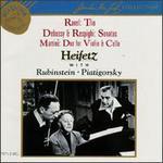 Ravel: Trio; Debussy & Respighi: Sonatas; Martinu: Duo for Violin & Cello