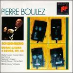 Schoenberg-Gurre-Leider ~ 4 Songs, Op. 22 / Napier, Minton, Nimsgern, J. Thomas, Bbc So, Boulez