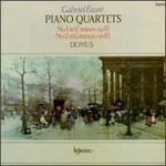 Gabriel Faure: Piano Quartets No.1 & 2