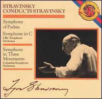 Stravinsky: Symphony of Psalms; Symphony in C; Symphony in Three Movements - Toronto Festival Singers (choir, chorus)