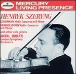 Schumann: Violin Concerto; Mendelssohn: Violin Concerto