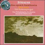 Richard Strauss: Also Sprach Zarathustra/Don Juan/Till Eulenspiegel