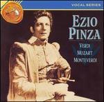 Ezio Pinza sings Verdi, Mozart, Monteverdi