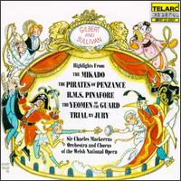 Gilbert and Sullivan: The Mikado; The Pirates of Penzance; H.M.S. Pinafore; The Yeomen of the Guard - Alwyn Mellor (vocals); Anne Howells (vocals); Anthony Rolfe Johnson (tenor); Barry Banks (vocals); Eric Garrett (vocals);...