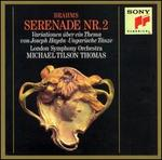 Brahms: Serenade No. 2; Variations on a Theme by Haydn; Hungarian Dances