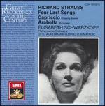 Richard Strauss: Four Last Songs; Capriccio; Arabella