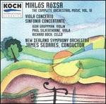 Mikl=s R=zsa: The Complete Orchestral Music, Vol. 3