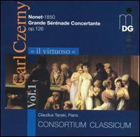 Il Virtuoso, Vol. 1: Carl Czerny - Claudius Tanski (piano); Consortium Classicum