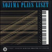 Nojima Plays Liszt - Minoru Nojima (piano)
