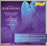 Albinoni: Double Oboe Concertos & String Concertos, Vol. 1