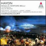 Haydn-Missa in Tempore Belli ~ Salve Regina / Röschmann, Von Magnus, Lippert, Widmer; Harnoncourt