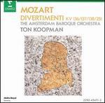 Mozart: Divertimenti K. 136, 137, 138 & 251