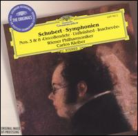 """Schubert: Symphonies Nos. 3 & 8 """"Unfinished"""" - Vienna Philharmonic Orchestra; Carlos Kleiber (conductor)"""