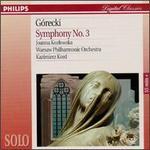 "Gorecki: Symphony No. 3 ""Symphony of Sorrowful Songs"""