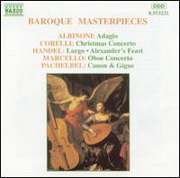 Baroque Masterpieces - Budapest Strings; Capella Istropolitana; Ferenc Erkel Chamber Orchestra; Jozef Cejka (oboe); J�zsef Kiss (oboe);...