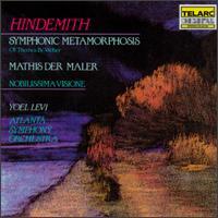 Hindemith: Mathis der maler; Nobilissima Visione; Symphonic Metamorphosis - Atlanta Symphony Orchestra; Yoel Levi (conductor)