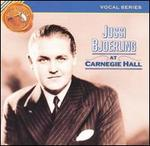 Jussi Bjoerling at Carnegie Hall