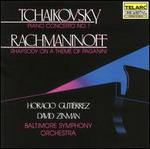 Tchaikovsky: Piano Concerto No. 1; Rachmaninoff: Rhapsody on a Theme of Paganini