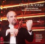 Glenn Dicterow, Concertmaster, New York Philharmonic