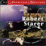 Starer Robert: 'Concerto a Tre' for Clar