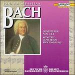 Bach: Ouvertnren Nos. 3 & 4; Concertos BWV 1060 & 1063