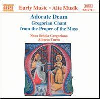 Adorate Deum - Nova Schola Gregoriana (choir, chorus); Alberto Turco (conductor)