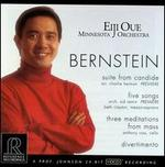 Bernstein: Suite from Candide; Five Songs; Three Meditations from Mass; Divertimento