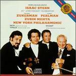 Isaac Stern 60th Anniversary Celebration - Isaac Stern (violin); Itzhak Perlman (violin); New York Philharmonic; Pinchas Zukerman (violin); Pinchas Zukerman (viola); Zubin Mehta (conductor)