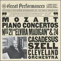 Mozart: Piano Concerto Nos. 21 & 24 - Robert Casadesus (piano); Cleveland Orchestra; George Szell (conductor)