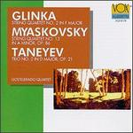 Mikhail Glinka: String Quartet No. 2 in F Major; Nikolay Myaskovsky: String Quartet No. 13 in A Minor, Op. 86