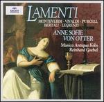 Anne Sofie Von Otter-Lamenti (Monteverdi, Vivaldi, Purcell, Bertali, Legrenzi) / Goebel