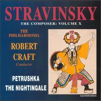 Igor Stravinsky: Petrushka; The Nightingale - Andrew Greenan (baritone); Mark David (trumpet); Michael Round (piano); Olga Trifonova (soprano); Paul Whelan (bass baritone); Peter Hall (tenor); Philippa Dames-Longworth (soprano); Robert Tear (tenor); Sally Burgess (alto); Simon Preece (bass)