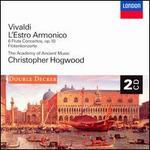 Vivaldi: L'Estro Armonico; 6 Flute Concertos, Op. 10