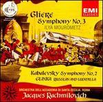 Reyngol'd Moritsevich Gliere: Ilya Mourometz; Dmitri Kabalevsky: Symphony No. 2; Mikhail Glinka: Russlan and Ludmilla
