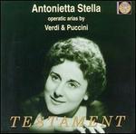 Antonietta Stella sings operatic arias by Verdi & Puccini