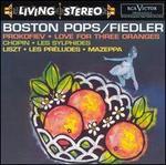 Sergei Prokofiev: Love for Three Oranges; Chopin: Les Sylphides; Liszt: Les Pr�ludes; Mazeppa