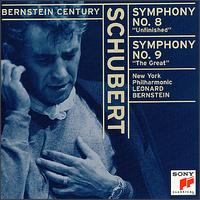 "Schubert: Symphonies No. 8 ""Unfinished""; Symphony No. 9 ""The Great"" - New York Philharmonic; Leonard Bernstein (conductor)"