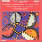 Vagn Holmboe: Complete Chamber Concertos, Vol. 4