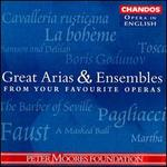 Great Arias & Ensembles from Your Favorite Operas