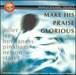 Make His Praise Glorious-American Psalmody Vol.1