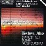 Aho: Symphony No. 1; Violin Concerto