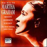 More Music for Martha Graham