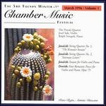 The 3rd Tucson Winter Chamber Music Festival, March 1996, Vol. 1