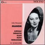 Jules Massenet Manon (Intã©Grale)
