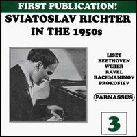 Sviatoslav Richter in the 1950s, Vol. 3 - Sviatoslav Richter (piano)