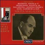 Nikita Magaloff: Beethoven Sonate Op. 57; Mendelssohn Sonate Op. 106
